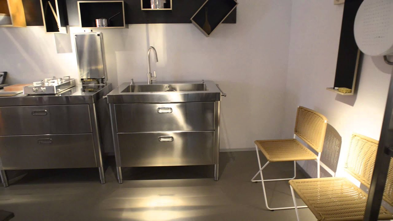 alpes inox agape12 store milano 2013 youtube. Black Bedroom Furniture Sets. Home Design Ideas