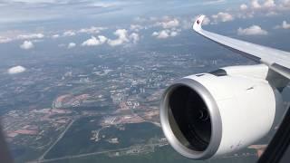 BREATHTAKING Malaysia Airlines Airbus A350-900 TAKEOFF at Kuala Lumpur Airport