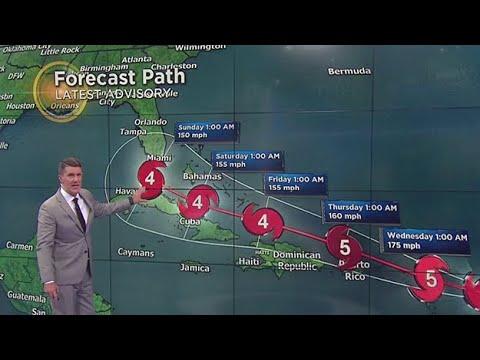 Irma Strengthens To Category 5 Hurricane