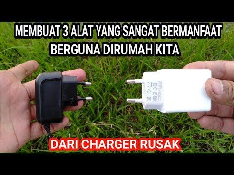 Wajib dicoba!!! Ide kreatif charger rusak menjadi barang yang sangat berguna