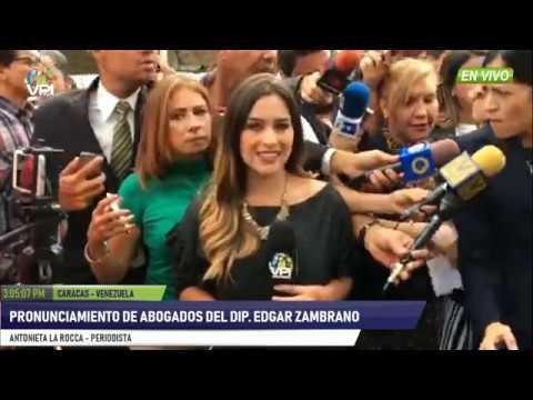 Venezuela - Abogados y familiares de Edgar Zambrano desconocen estado del parlamentario - VPItv