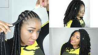 HOW TO || FAUX LOCS CROCHET BRAIDS BEGGINER FRIENDLY