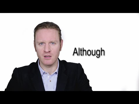 Although - Meaning | Pronunciation || Word Wor(l)d - Audio Video Dictionary
