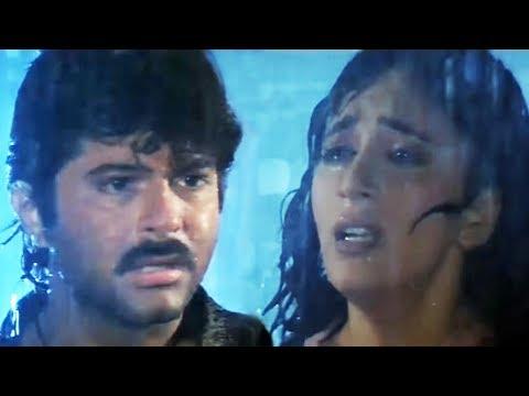 Anil Kapoor, Madhuri Dixit, Anupam Kher,Tezaab - Scene 19/20 (k)