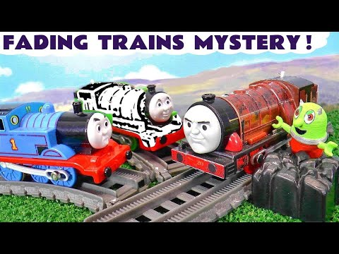 MYSTERY Fading Toy Trains with Thomas and the Funlings