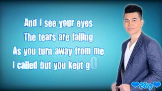 daryl ong its not easy letting go with lyrics