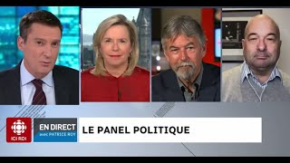 Le panel politique du 29 octobre 2020