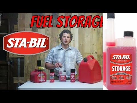 TG STA-BIL Fuel Storage