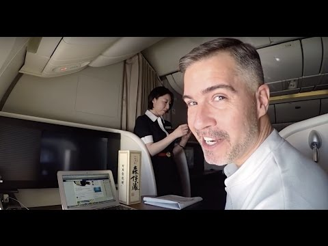 Japan Airlines First Class Suites - JFK to NRT