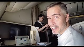 Top 10 Airlines - Japan Airlines First Class Suites - JFK to NRT