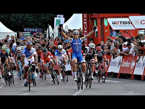 Final de la Vuelta a España en Madrid