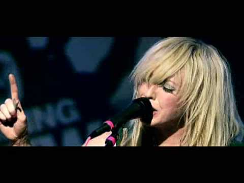"The Ting Tings - Shut Up and Let Me Go ""Live """
