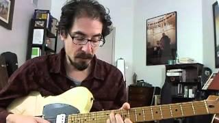 50 Jazz Blues Licks - #31 Hank Jones - Guitar Lesson - David Hamburger
