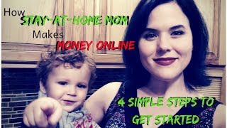 Learn the 4 simple steps how stay-at-home moms make money online doing what they love through affiliate marketing. social media sales automation: http://bit....