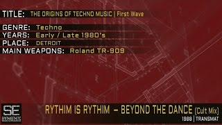Rythim Is Rhythim - Beyond The Dance (Cult Mix) (Transmat | 1988)