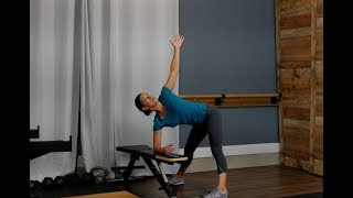 Chair Assisted Spinal Twist