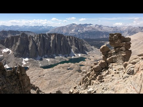 High Sierra Trail 2017 (Day 8 - Guitar Lake to Mount Whitney