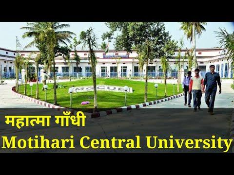 Mahatma Gandhi Central University | Motihari | Bihar
