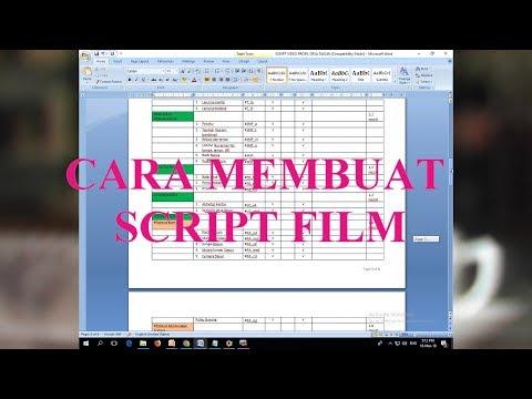 cara-membuat-script-film
