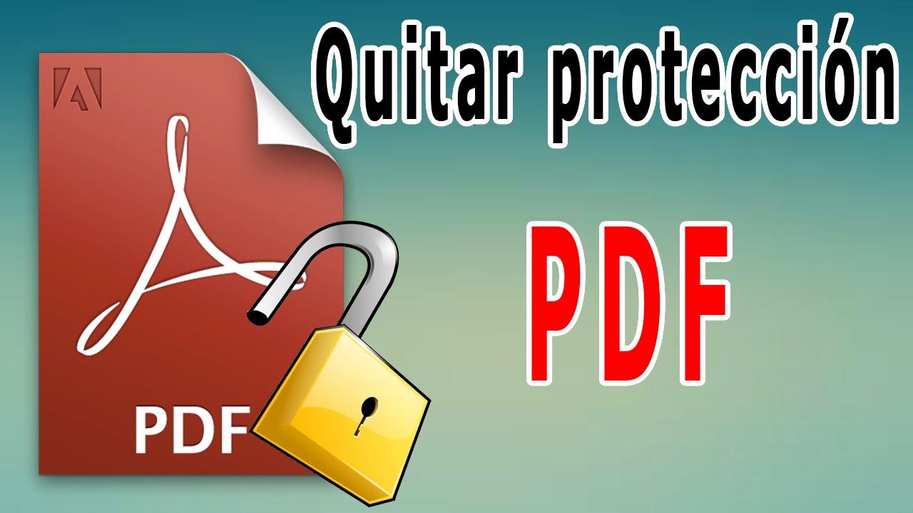 C mo quitar la protecci n a archivos pdf sin programas - Como quitar la carcoma ...