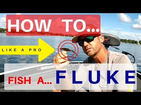 How To Fish A Fluke - Bass Fishing