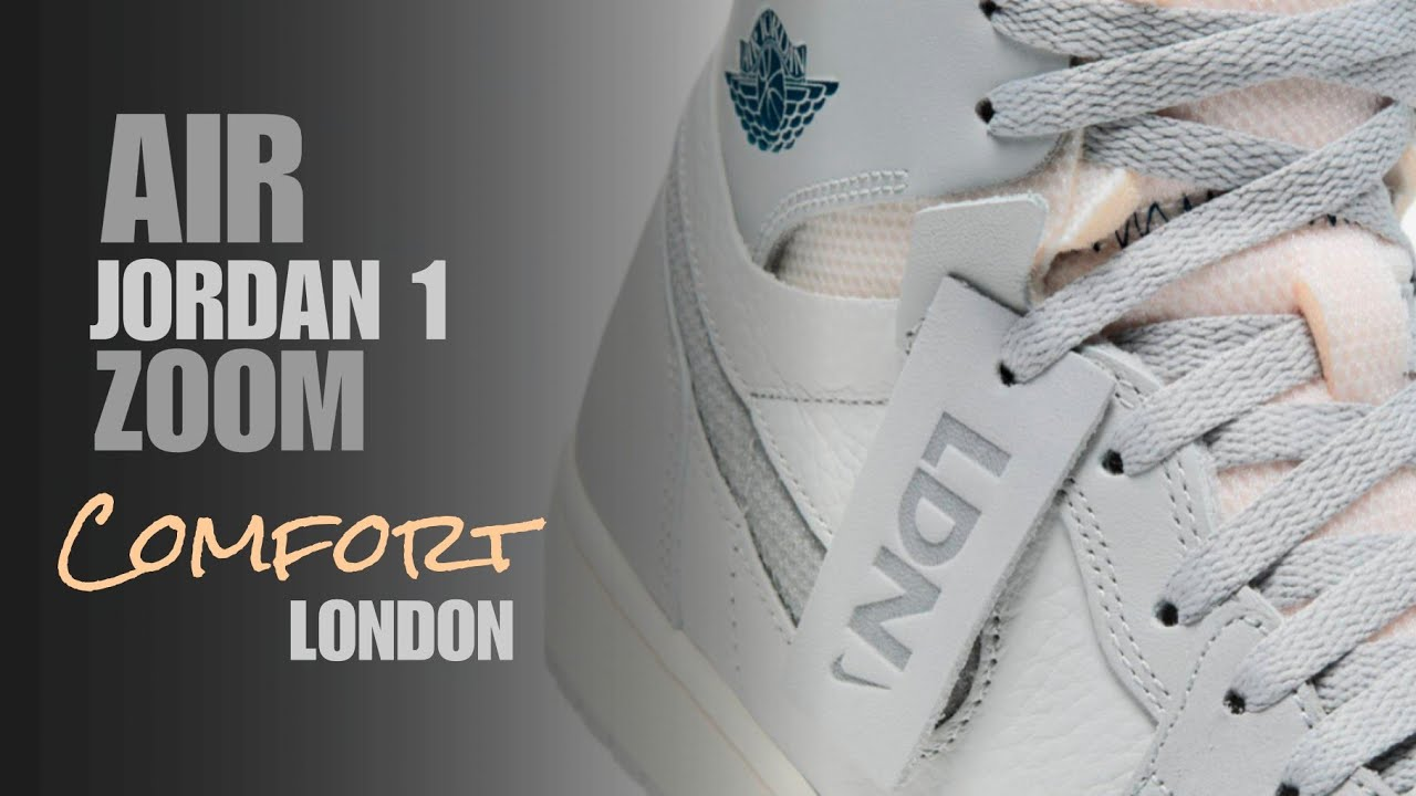 london air jordan 1 zoom comfort detailed look
