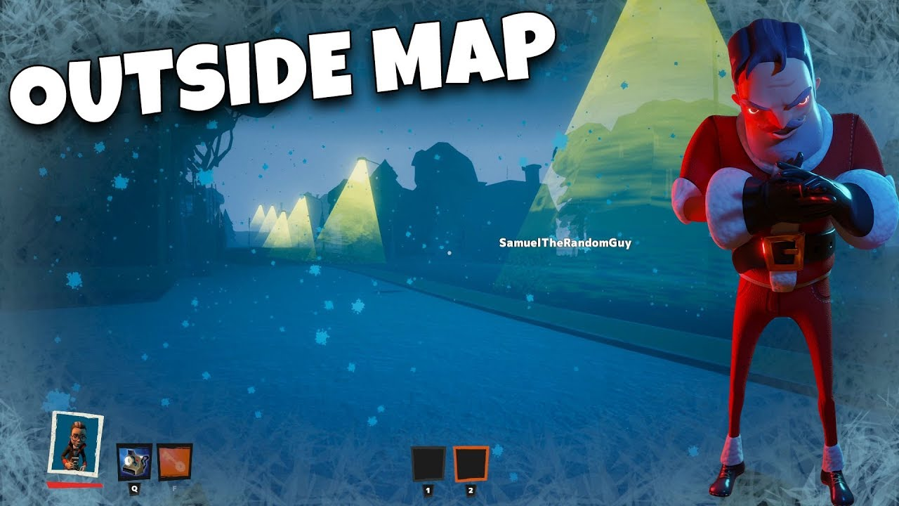 GETTING OUTSIDE MAP in SECRET NEIGHBOR (FOUND A SECRET