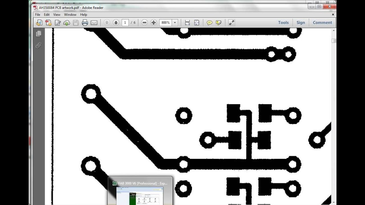 Convert PDF to PCB Gerber data - Avoid Raster PDF files
