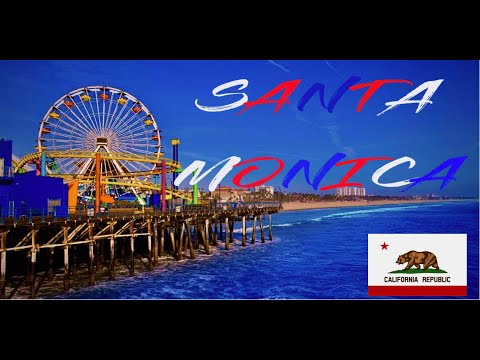 SANTA MONICA & VENICE BEACH/CINEMATIC TRAVEL VIDEO/SONYA6300