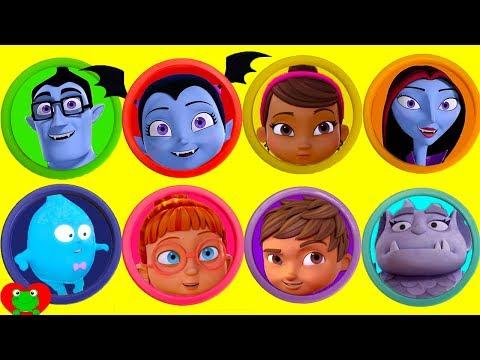 Vampirina Disney Jr Play Doh Surprises