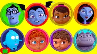 Vampirina Disney Jr Play Doh Surprises