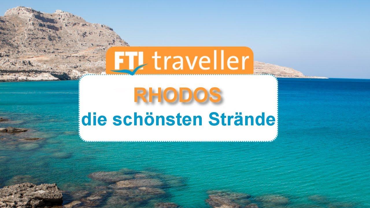 Karte Rhodos Urlaub.Die Schönsten Strände Auf Rhodos Fti Reiseblog