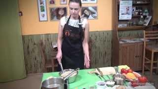 Анастасия Андреева - Зелёная Гречка с Тушёными Овощами под Соусом из Орехов Кешью