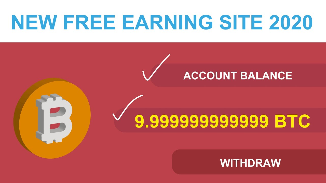 New Free Bitcoin USD Earning Site 2020 Live Proof legit or scam ...