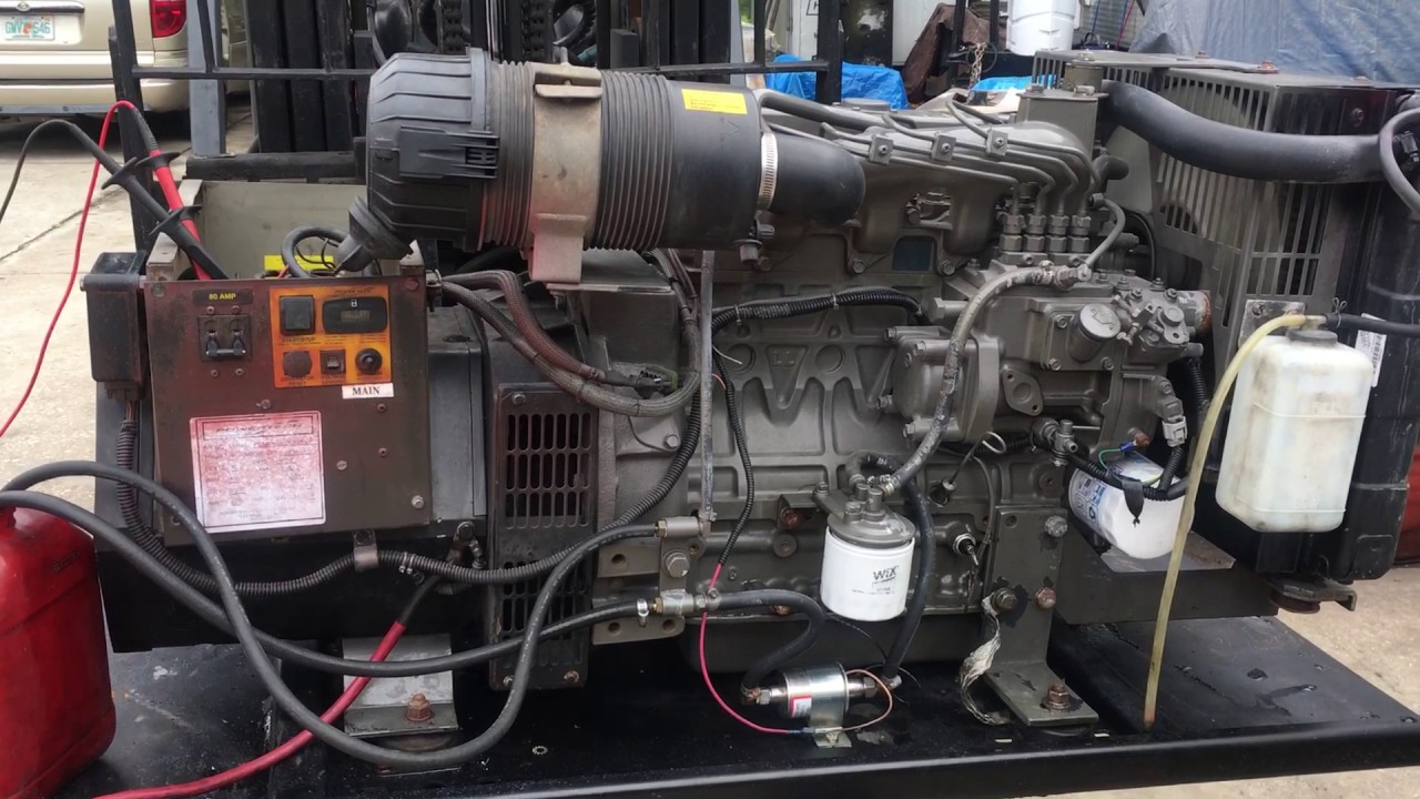 For Sale 1100 Hour 20kw Power Tech Generator Testing Voltage