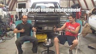 "96 chevy 3500HD ""old smokey"" engine swap: intro"