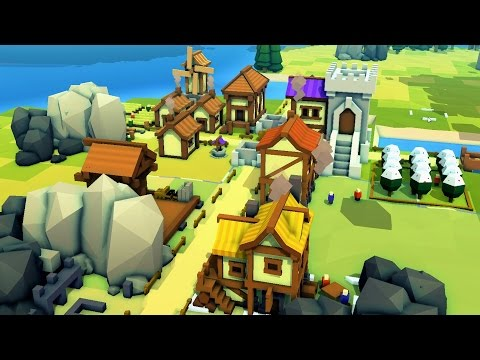 Building an Entire Medieval Kingdom! Banished Style Game - Kingdoms and Castles Alpha Gameplay Ep 1