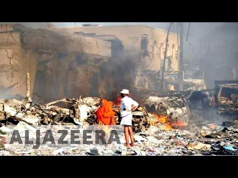 Somalia: More than 200 killed in massive Mogadishu blasts