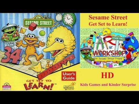 Sesame Street: Get Set To Learn! - Sesame Street 2017 | Kids Games and Kinder Surprise