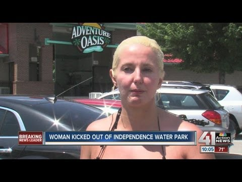 Woman Kicked Out of Water Park for Swimsuitиз YouTube · Длительность: 57 с