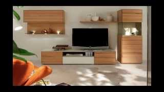 Wooden Finish Wall Unit Combinations