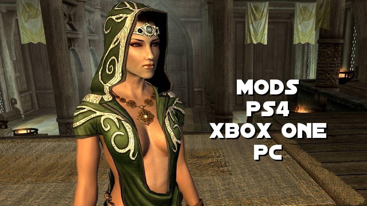 10 MODS FOLLOWER / COMPAGNON PS4 XBOX ONE PC - SKYRIM SE