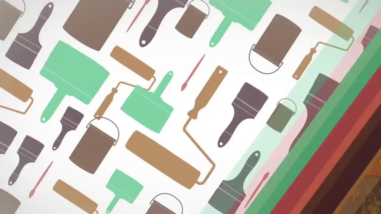 peinture naturelle la farine peinture l 39 ocre ou peinture su doise youtube. Black Bedroom Furniture Sets. Home Design Ideas