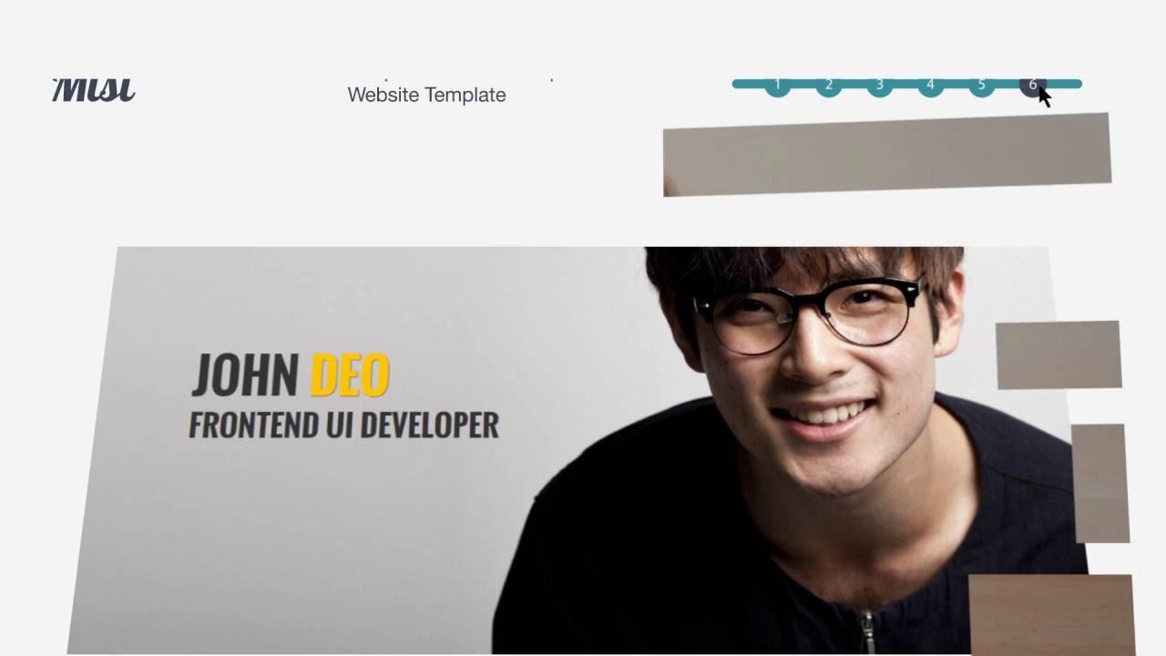 Best HTML5 Freelance website templates - YouTube