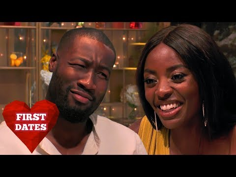 Will AJ Odudu's Banter Overwhelm Her Date? | First Dates Hotel