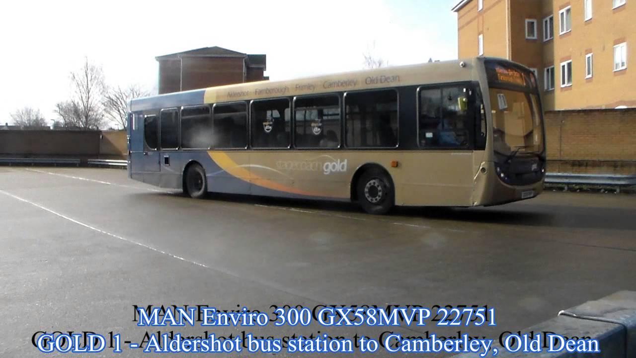 An Hour At Aldershot Bus Station Youtube