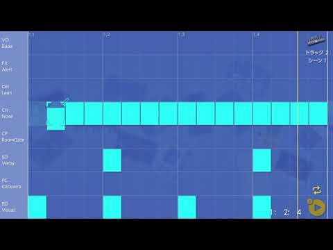 画像2: 08 ハットのタイミングをもっと変えてみる バレッドプレス KORG Gadget for Nintendo Switch講座 www.youtube.com