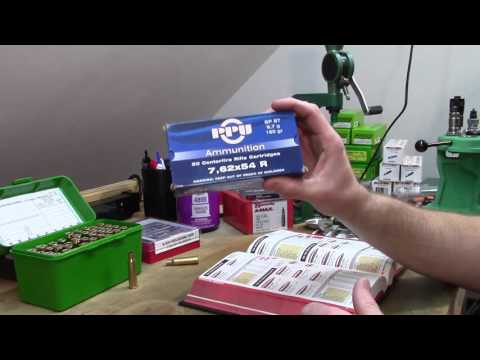 Reloading 7.62x54R - ep 1 - Loading some test rounds for my Mosin-Nagant 91/30