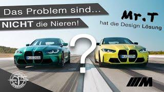 NEW BMW M3 und M4 2021...die Nieren sind NICHT das Design Problem beim. Mr.T hat die Design Lösung!