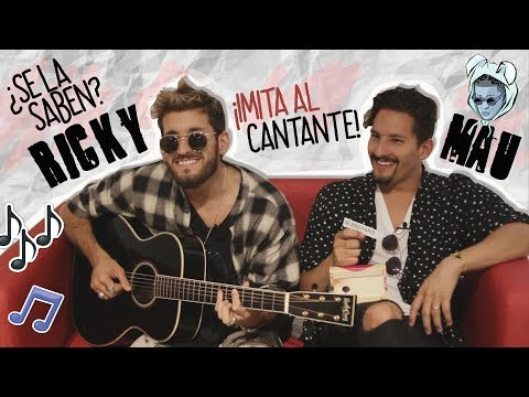 Reto del reggaetón con Mau y Ricky Montaner - La Revista Actual
